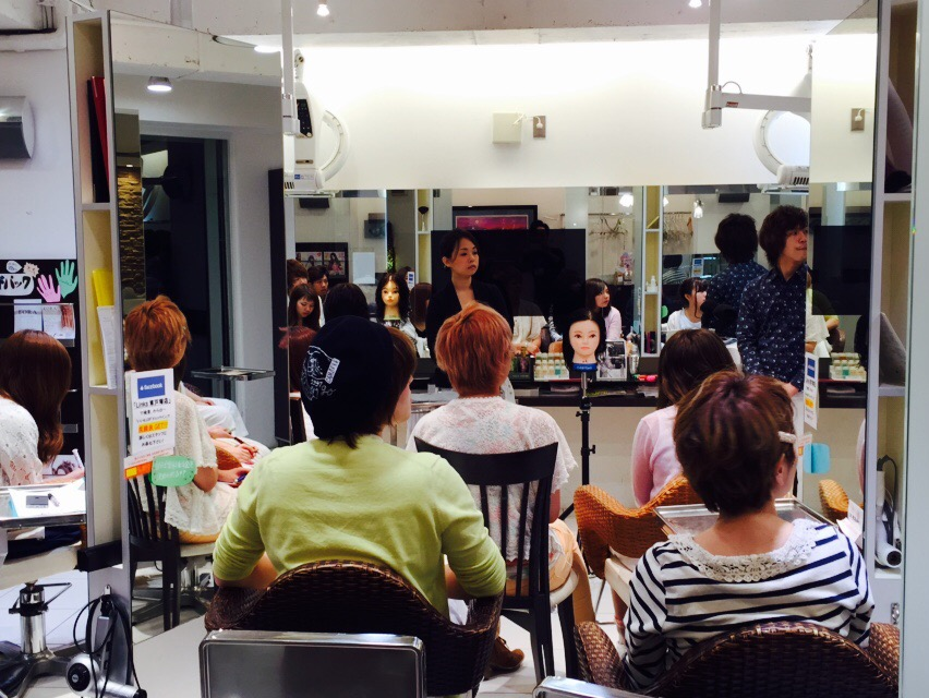ウェーブマスター講習 : LINKS 市川 恭平 のブログ -美容室リンクス・プリム・ガーデン-